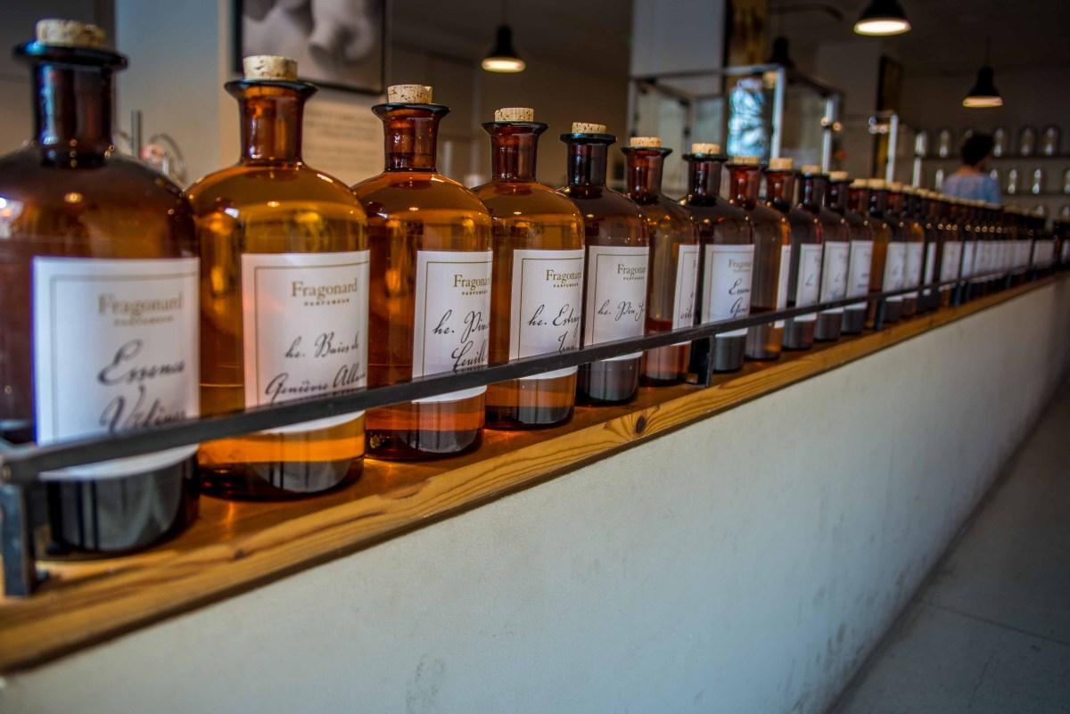 Fragonard parfumerie grasse provence alpes cote d'azur icietlabas sud