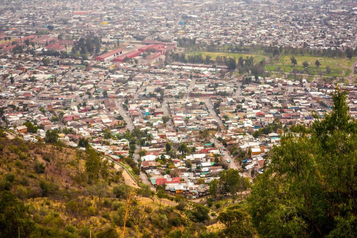 santiago chili blog voyage icietlabas ici et la bas cerro san cristobal
