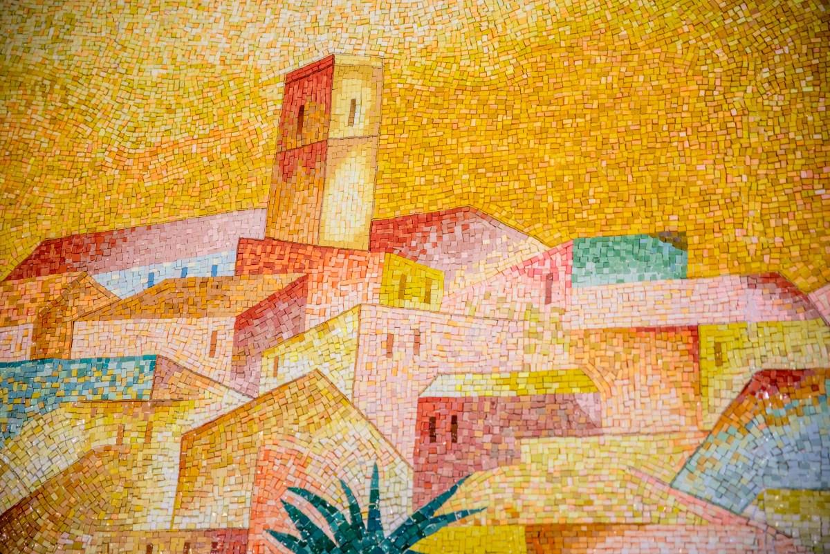 Saint-Paul-De-Vence Saint Paul De Vence Provence Alpes Côte D'Azur icietlàbas ici et là-bas blog voyage chapelle folon