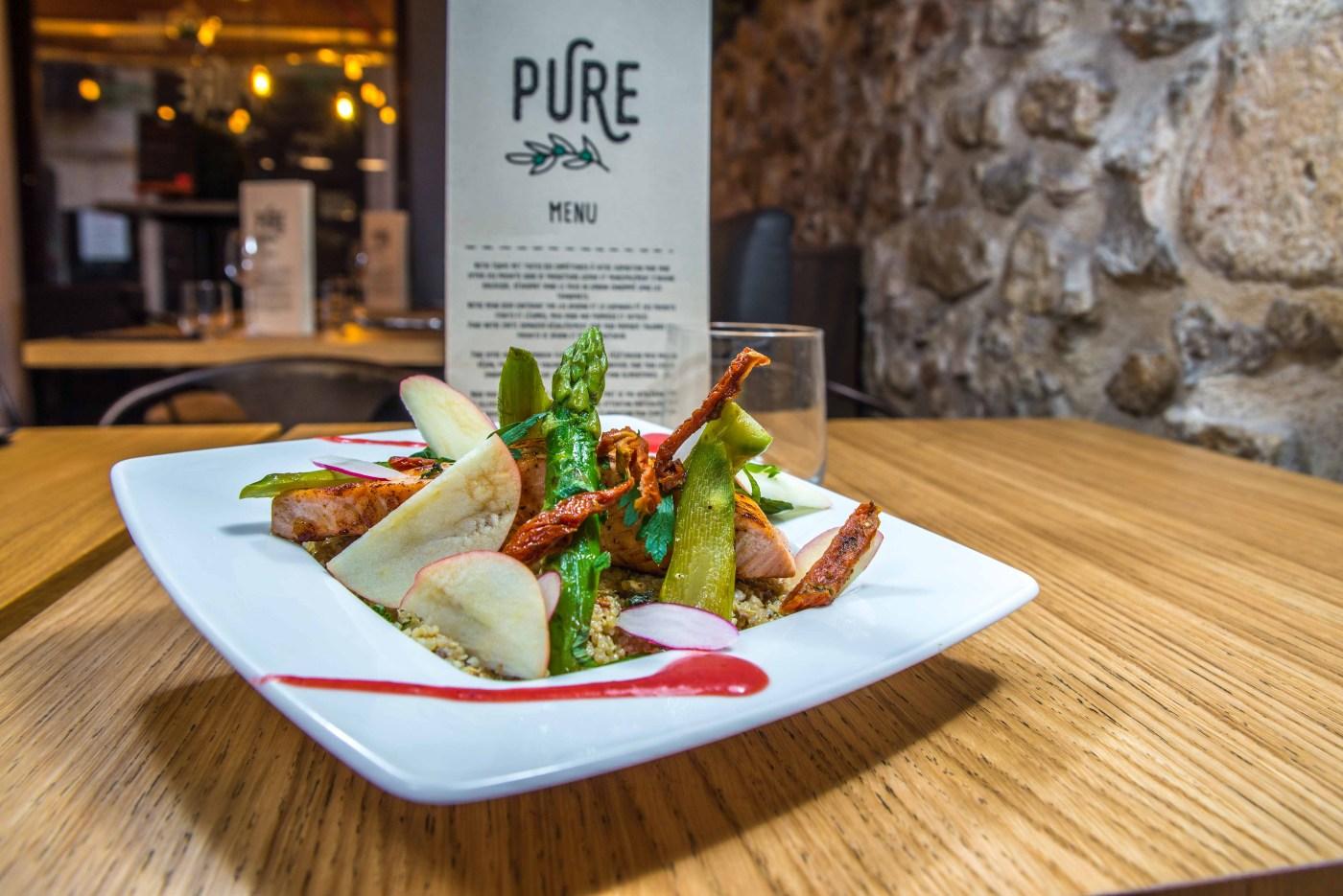 pure restaurant cannes végan végétarien végétalien flexivore bio sans gluten