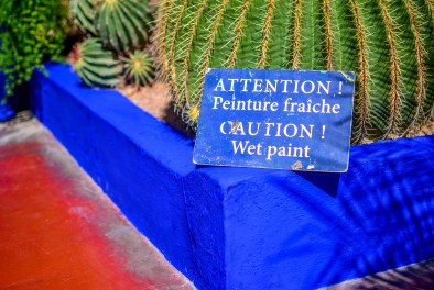 Marrakesh Jardin Majorelle Morocco BlueMajorelle Blue Memorial Yves Saint Laurent blog blogvoyage voyage icietlabas