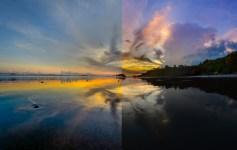 retoucher un coucher de soleil avec lightroom blogvoyage icietlabas