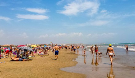 Valencia EspanaEspagne Cité des arts et des sciences-Blogvoyage Blog voyage icietlabas roadtrip espagne plage