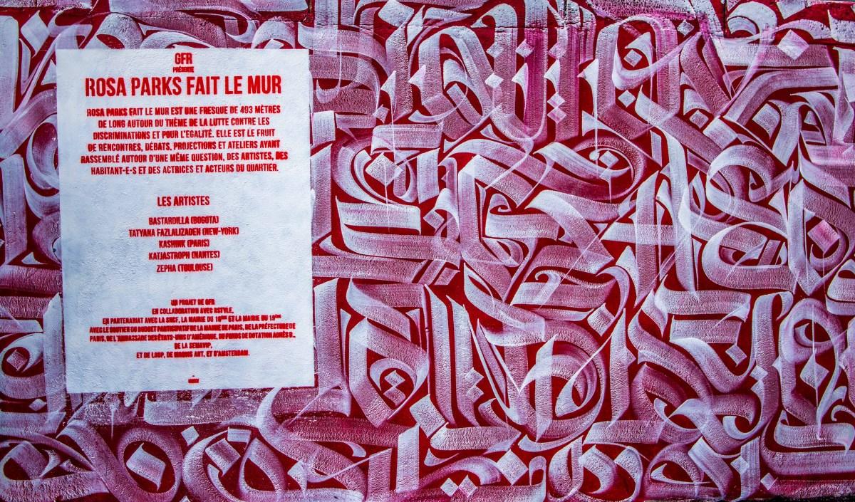 rosa parks fait le mur streetart street art paris blogvoyage blog voyage icietlabas