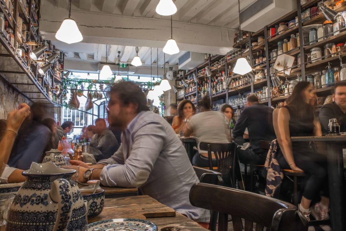 ou manger à paris BigLove Caffe marrais blog voyage icietlabas