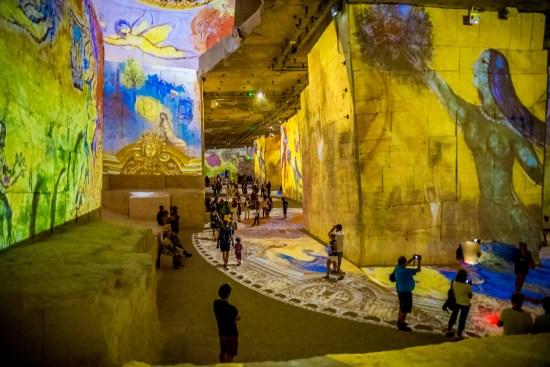 Carrieres De Lumieres A Baux De Provence Edition Chagall Blog De Voyage Tutoriels Photos Lifestyle