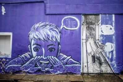 Street art à Georgetown Penang Malaisie Asie blogvoyage Icietlabas