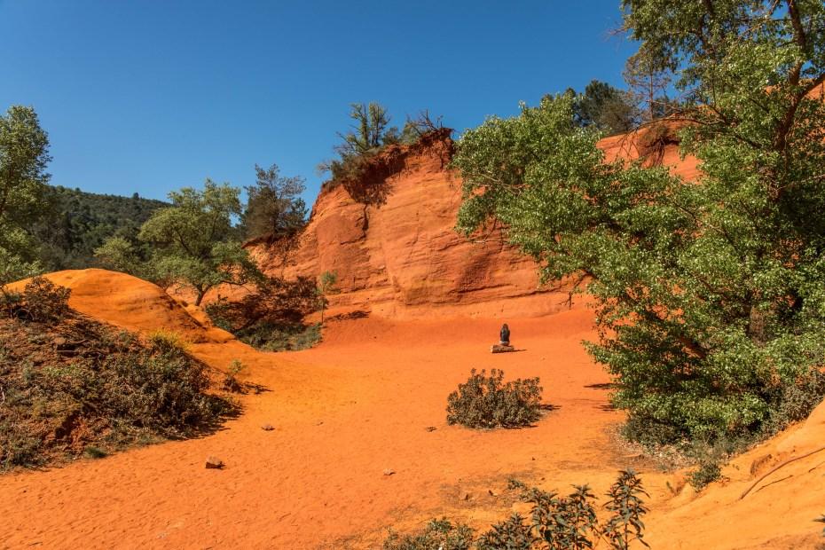 Colorado Provençal Rustrel Mines de Bruoux blog voyage icietlabas