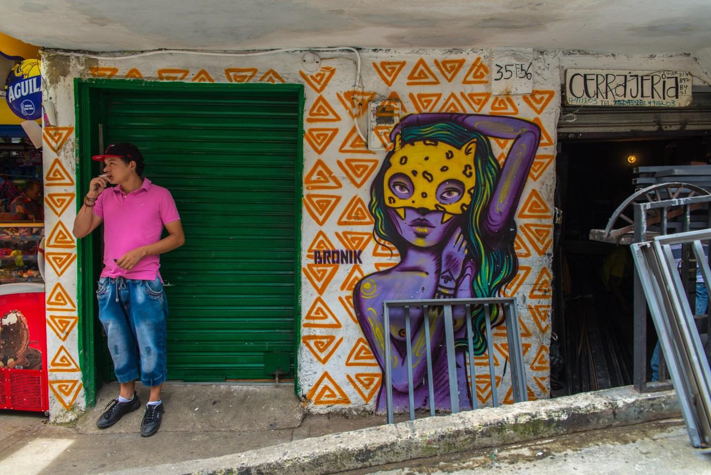 Street Art Medellin Colombie Blog de Voyage Blog Voyage Trois semaines en Colombie-