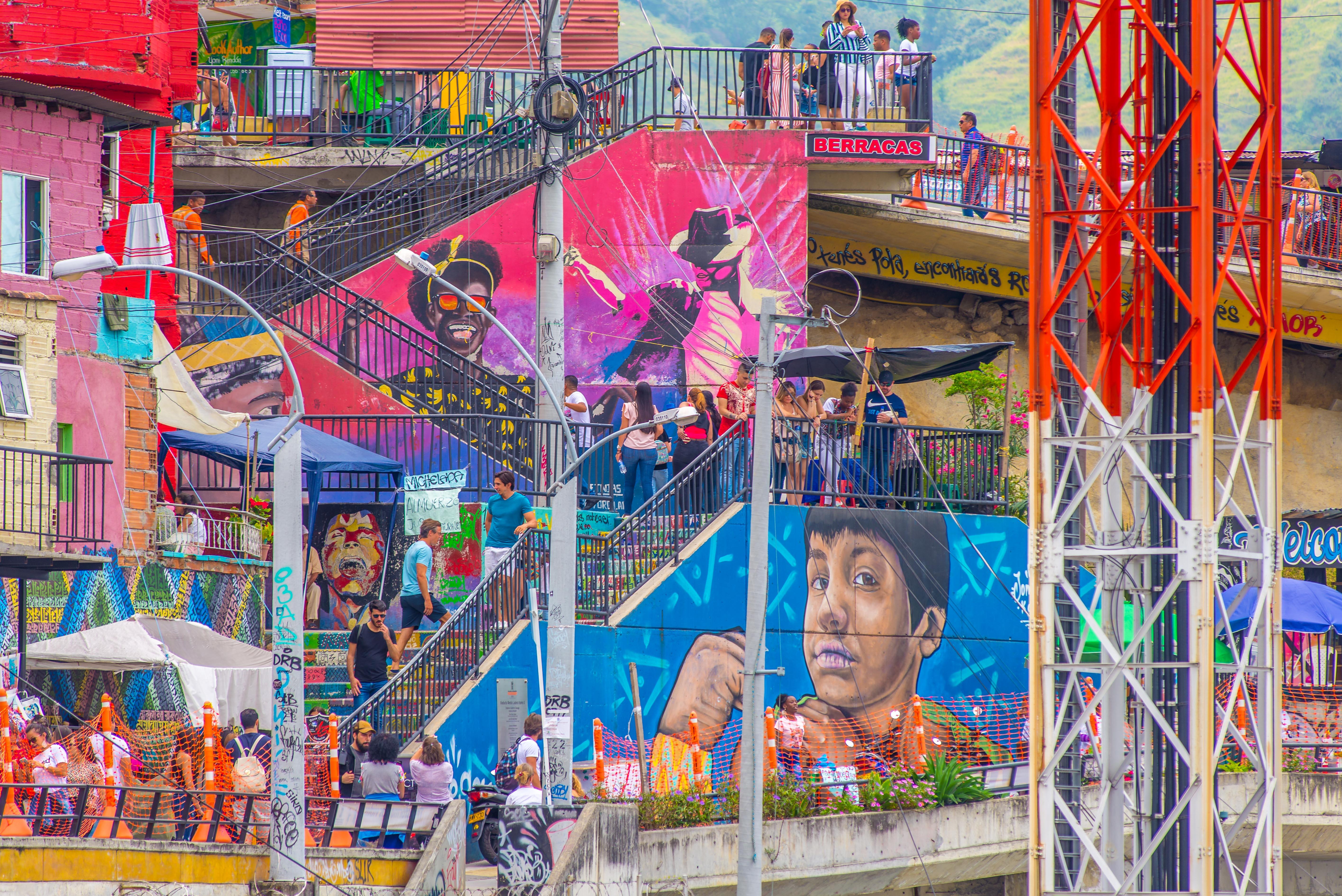 Comuna 13 Street Art Medellin Colombie Blog de Voyage Blog Voyage Trois semaines en Colombie