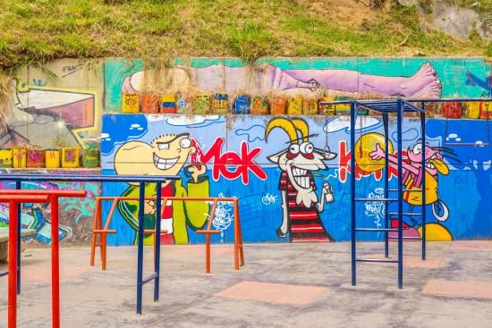 Comuna 13 Street Art Medellin Colombie Blog de Voyage Blog Voyage Trois semaines en Colombie-77