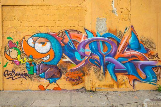 Street Art à Gestemani Carthagène des Indes Colombie Blog Voyage-12