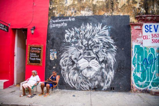 Street Art à Gestemani Carthagène des Indes Colombie Blog Voyage-18