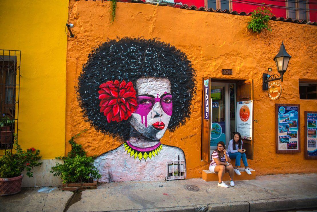 Street Art à Gestemani Carthagène des Indes Colombie Blog Voyage
