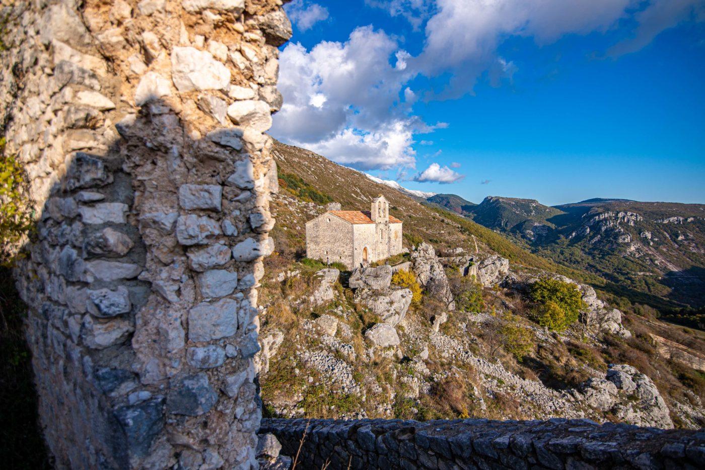 Haute-Gréolières urbex provence alpes cote d'azur blog voyage