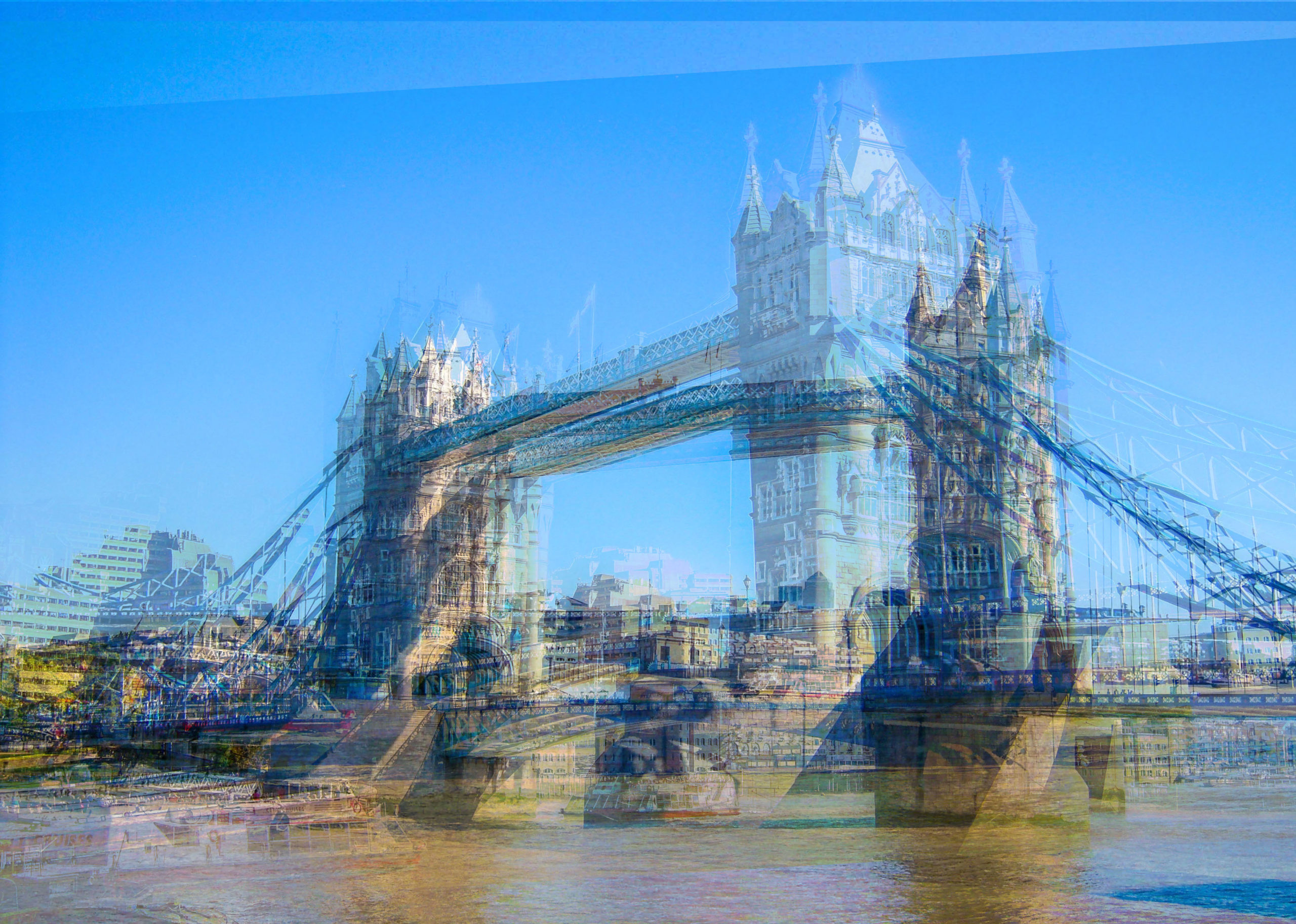 Déchet Numérique Digital Waste Impressionisme Tower Bridge Impressionisme Blog Voyage
