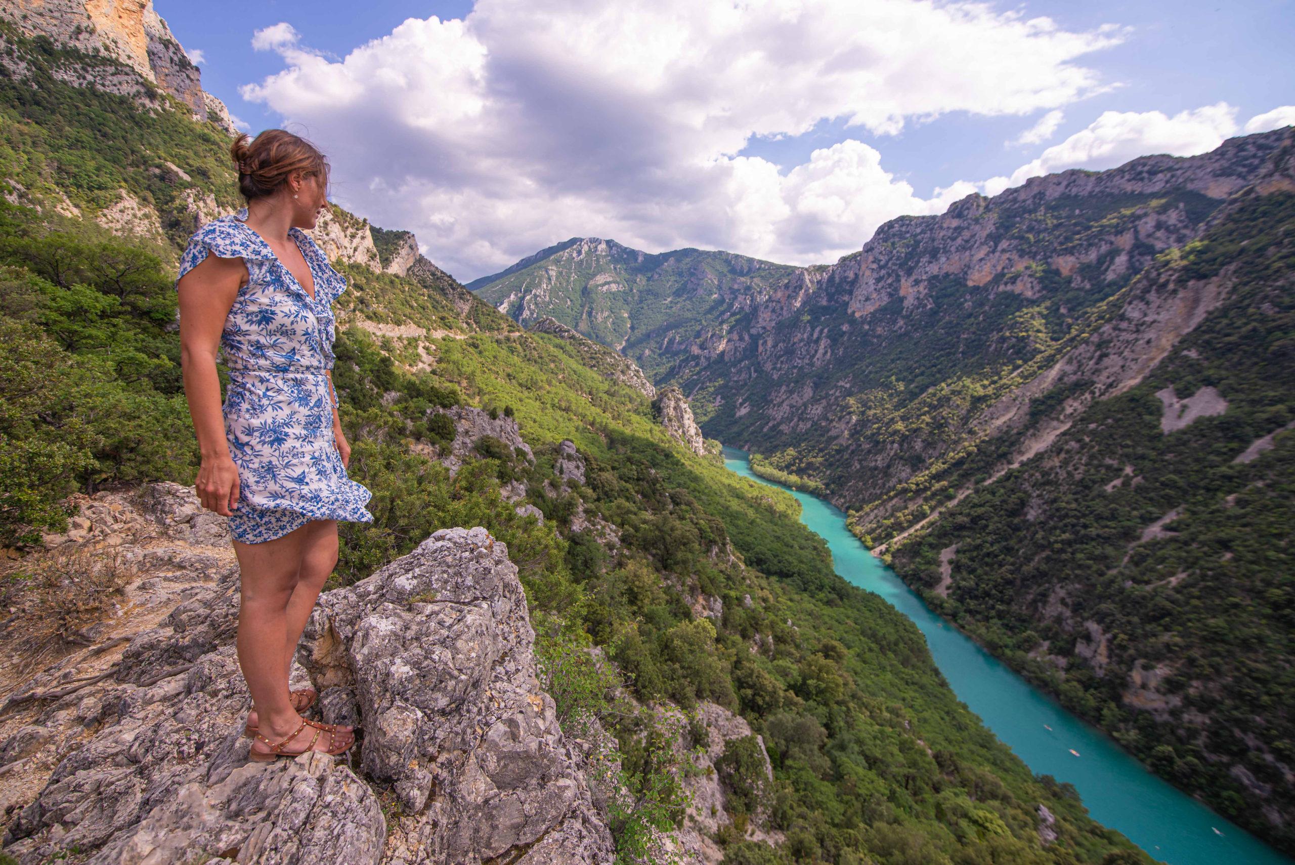 Gorges du Verdon département du Var Alpes-de-Haute-Provence Provence Alpes Côte d'Azur Paca blog voyage