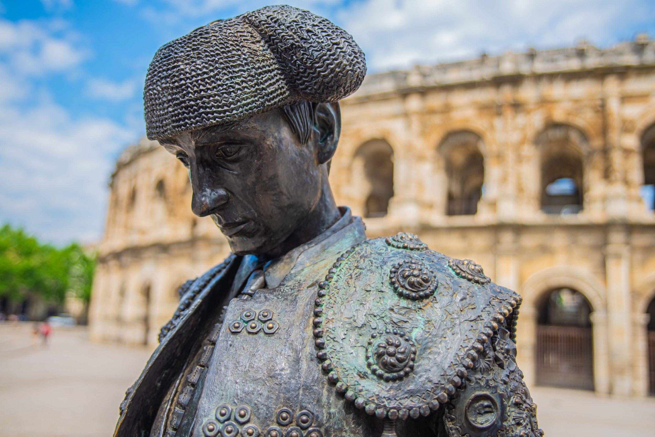 Nîmes Occitanie l'éccuson musée de la romanité blog voyage road trip camargue luberon