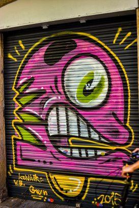 Street Art Barcelone que faire à Barcelone Que faire en Espagne Catalogne Catalunia Blog voyage