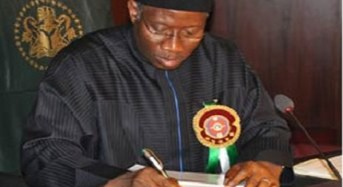 Jonathan Approves 25 Justices For Court Of Appeal