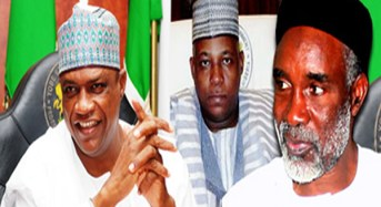 Governors Gaidam, Nyako, Oppose Emergency Rule Extension