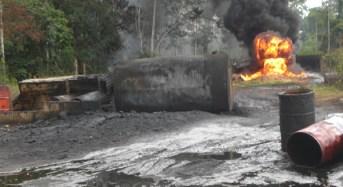 Burning Of Bush Refineries Threaten Environment In Niger Delta