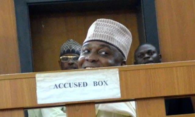 Senate President Bukola Saraki in the dock today
