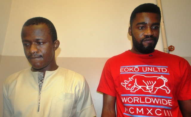 EFCC Nabs Two Yahoo Yahoo Boys In Asaba
