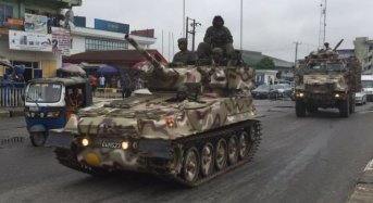 Army to commence 'Operation Crocodile Smile' in Ogun State