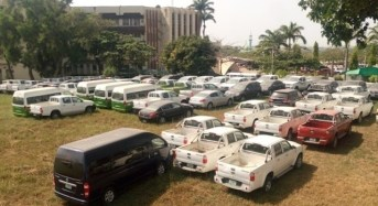 ICPC Recovers N450 Million Vehicles 'Stolen' By Govt officials