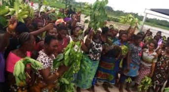 Women Protest Military Invasion Of Niger-Delta Community