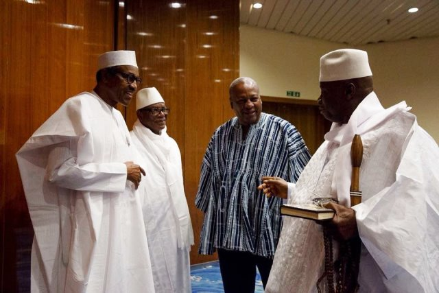 buhari-in-the-gambia-to-hold-talks-with-jammeh