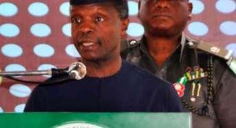 """Osinbajo Says FG Must Treat Niger Delta """"Special"""""""