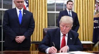 Trump Signs New Immigration Ban, Excludes Iraq