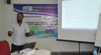 LIVE: Final day of ICIR training for journalists on covering procurement processes