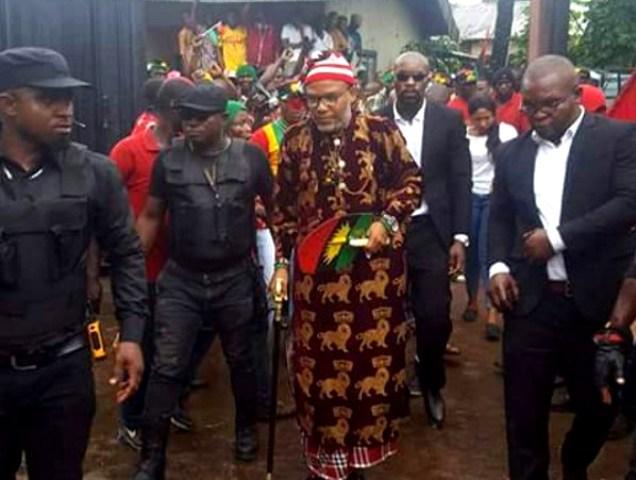 Kanu soft-pedals, says Biafra Secret Service a mere vigilante group