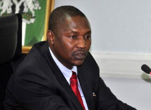 Malami on Maina's recall: I won't talk until Buhari gives me clearance (October 25, 2017)