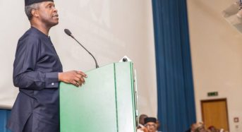 Osinbajo says what he approved for NNPC were financing loans not contracts