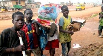 PHOTOS: Nigeria's out-of-school children who are now scavengers, sachet water sellers