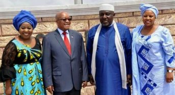 Okorocha insists: I won't pull down Zuma's statue because he's no longer president