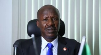 You have done well, Police Commission promotes Magu, EFCC Chairman,17 others