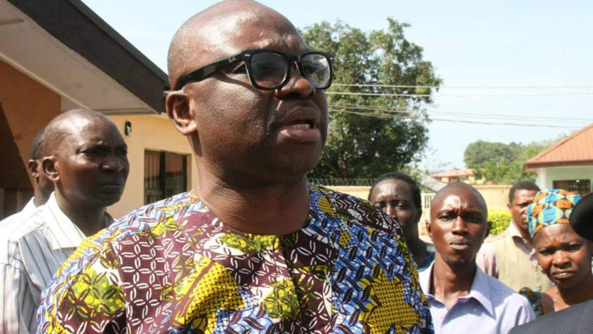 Fayose's political career 'sealed for good' – Presidency