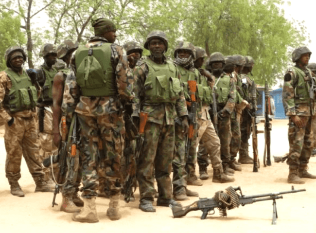Army says normalcy has returned after soldiers' protest in Maiduguri