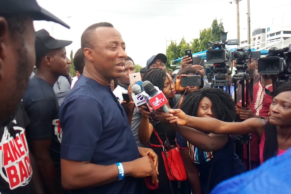Image result for Sowore's movement rejects plan to increase VAT