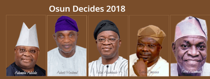 Osun Decides 2018: Twitter analysis reveals campaign behaviours of leading candidates