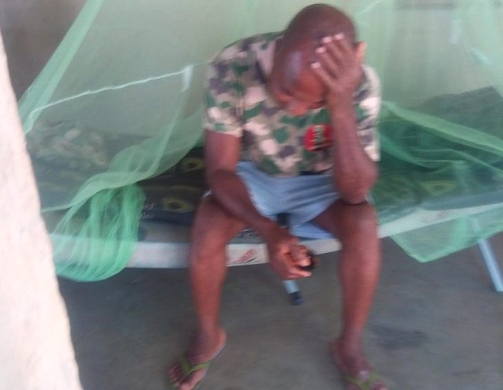 INVESTIGATION: How soldiers fighting Boko Haram beg for food and sleep in classrooms