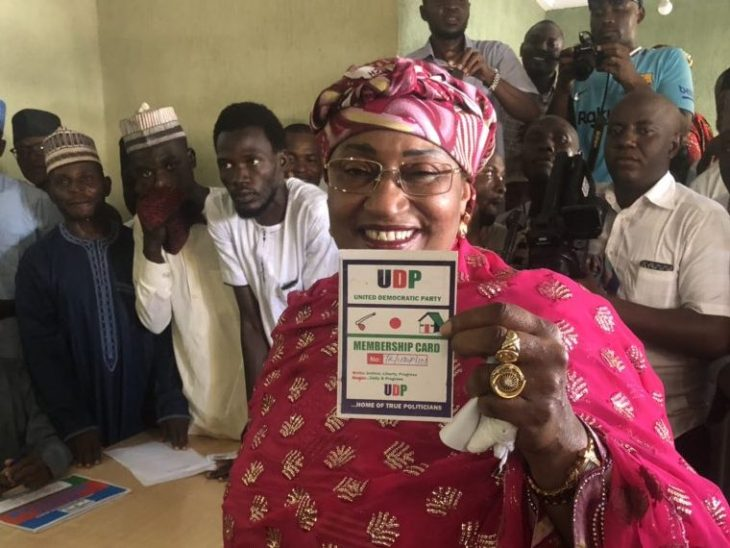Mama Taraba removes property from  APC secretariat