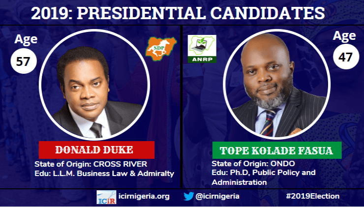 Many election promises of Donald Duke and Tope Fasua(part 3)
