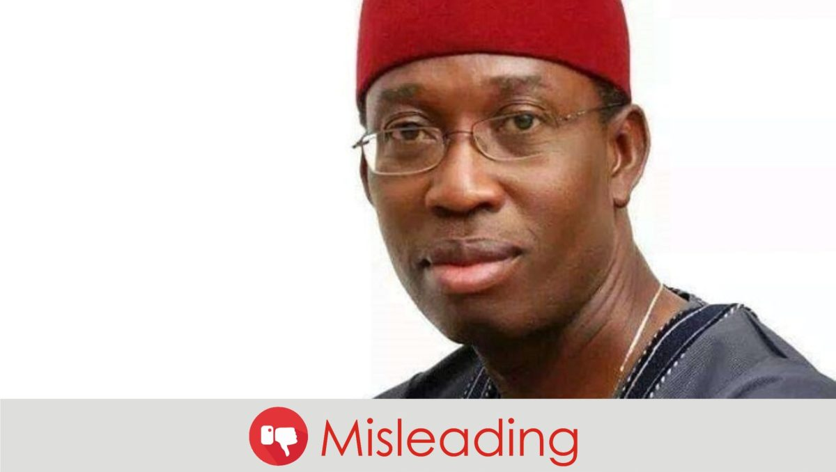 FACT CHECK: Did Okowa raise Delta State's IGR from 30 to N51 billion?