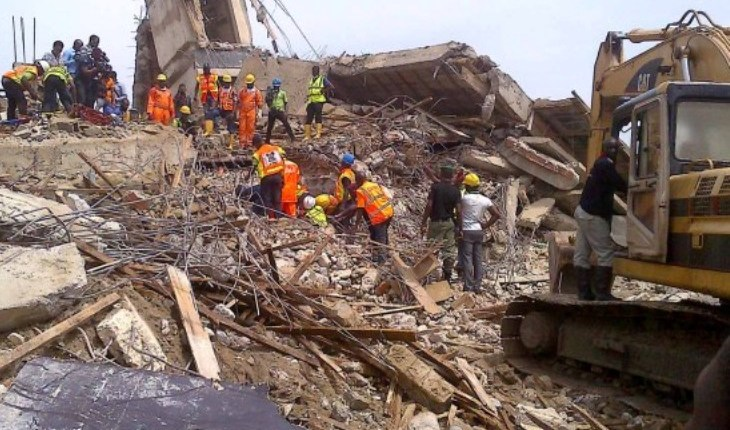 Image result for 7 storey building collapse in port harcourt